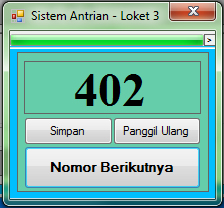 Antrian Client (Button)